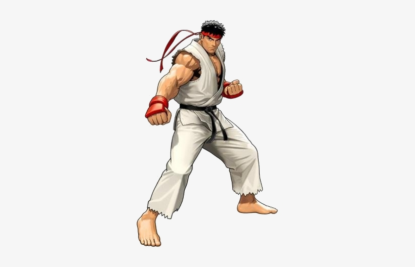 Ryu - Ryu Street Fighter Vector, transparent png #1482716