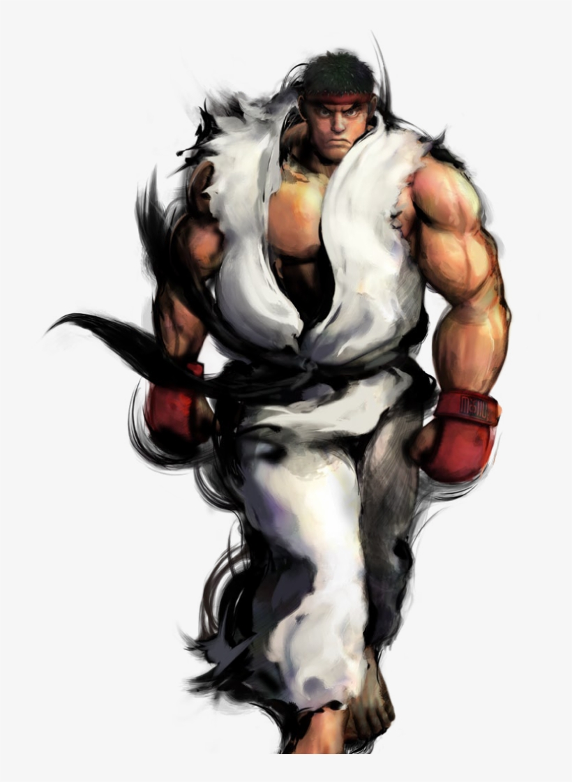 Ryu Png Transparent Image - Street Fighter Gouken Ryu, transparent png #1482785