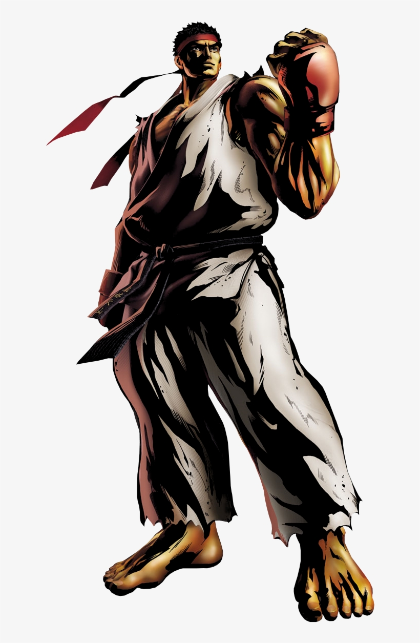 Ryu Png Image - Marvel Vs Capcom 3 Character Art, transparent png #1482943