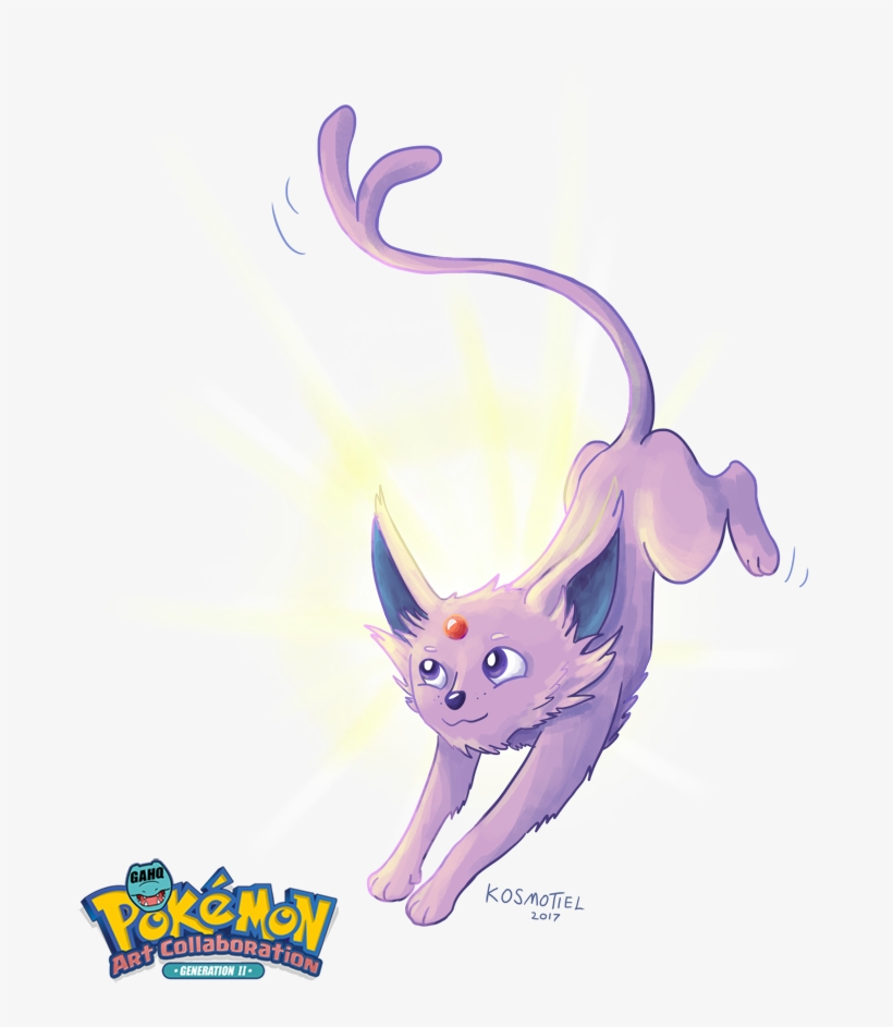 #196 Espeon Used Morning Sun And Psyshock In The Game - Pokemon Coloring Book: Pokemons Invade Universe, transparent png #1482969