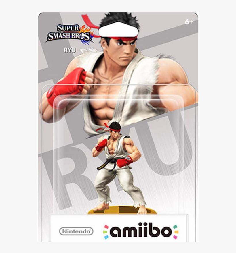 Amiibo Smash Ryu - Amiibo Smash Ryu Nintendo Wii-u, transparent png #1483322