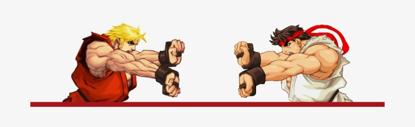 Best Friends, Rivals And Sparring Partners - Ken Street Fighter Icon, transparent png #1483370