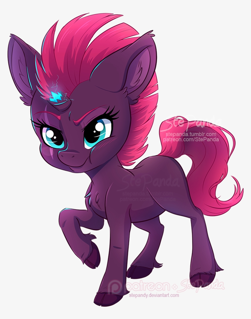 Chibi Tempest Shadow By Stepandy On Deviantart Mlp Tempest Shadow