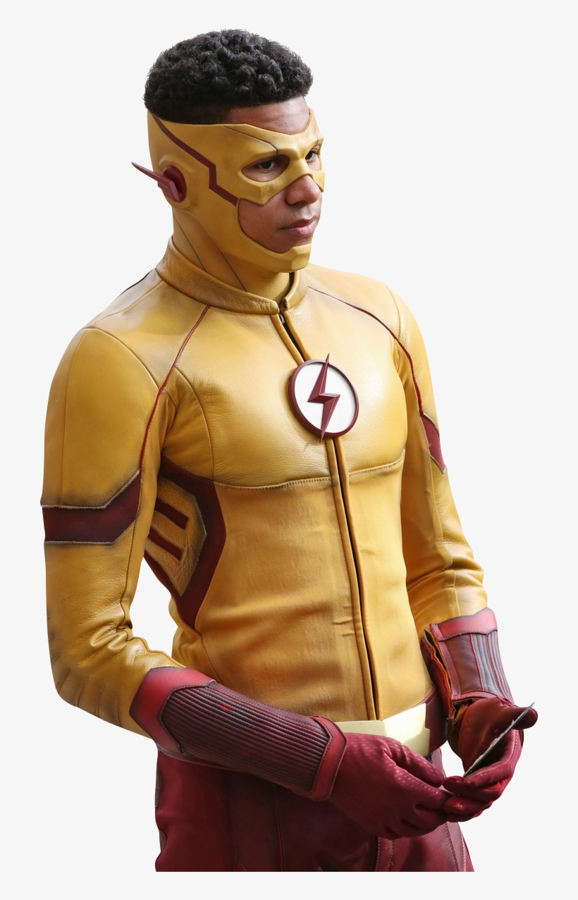 I Just Hope That We Get To See Joe West, Wally's Father, - Kid Flash Cw, transparent png #1485086