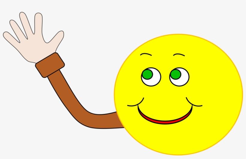 Wave Smiley Emoticon Computer Icons Hand-waving - Sad ...