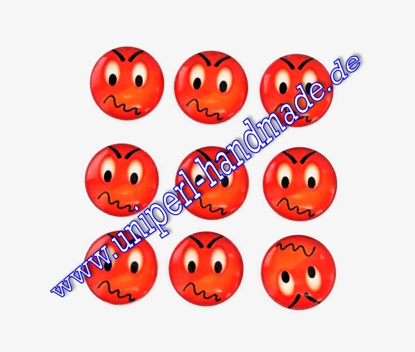 Emoji Cabochon 14 Mm Mad Face Sealing Wax Icon Free