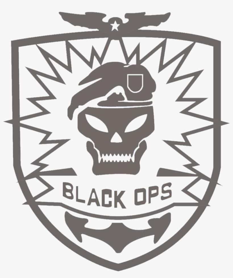 For Black Ops Logo Skull Call Of Duty Black Ops Vector Free