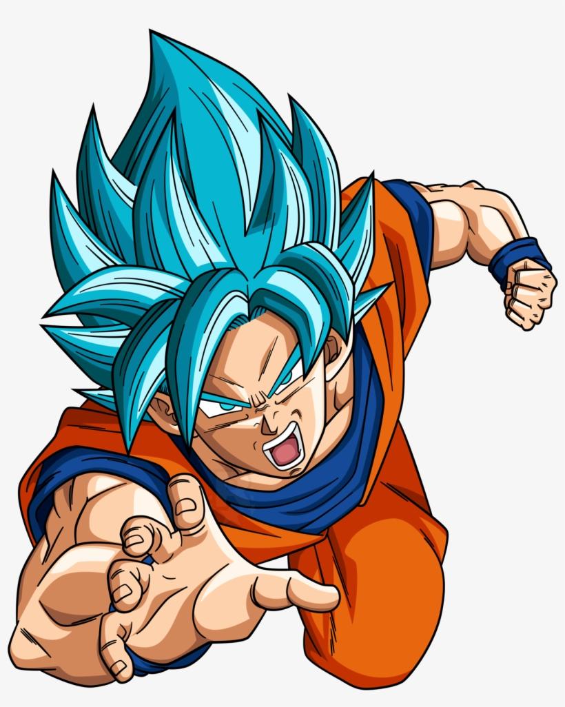 Super Saiyan Blue Goku 3 By Righteousaj Dak9lex Goku Super