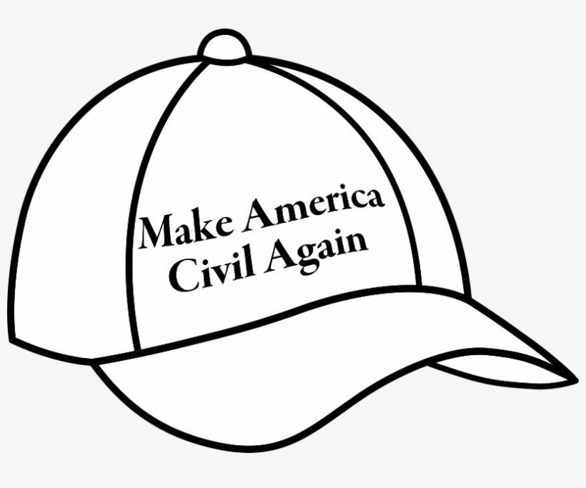 Civil Again Hat - Make America Civil Again Hat, transparent png #1488004