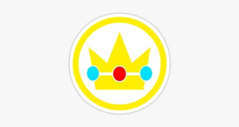 Princess Peach Crown Stickers By Sirrockalot Redbubble
