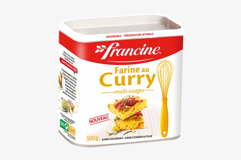 Curry - Francine French Waffle Mix, transparent png #1488948