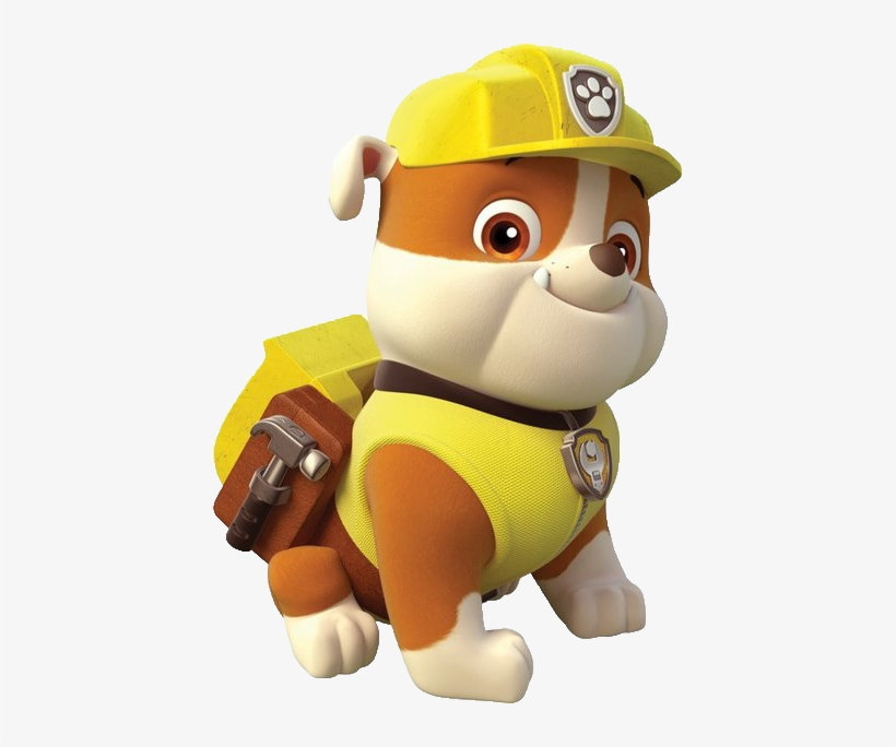 Paw Patrol Rubble Png Graphic Library Paw Patrol Characters Rubble