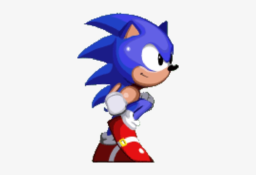 Sonic Engine Sonic Running Gif Free Transparent Png Download Pngkey