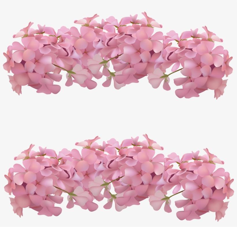 Clip Free Stock Flower Blossom Romantic Decorative - Molduras Para Convites Com Flores, transparent png #1492985