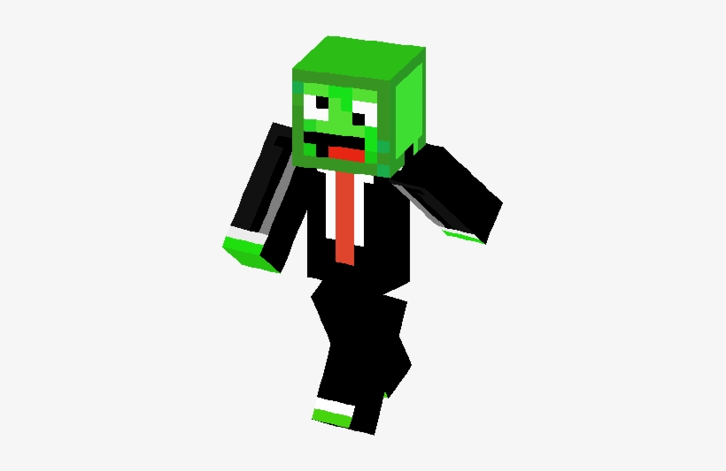 Big Green Derp Skin Minecraft Derp Face Free Transparent Png