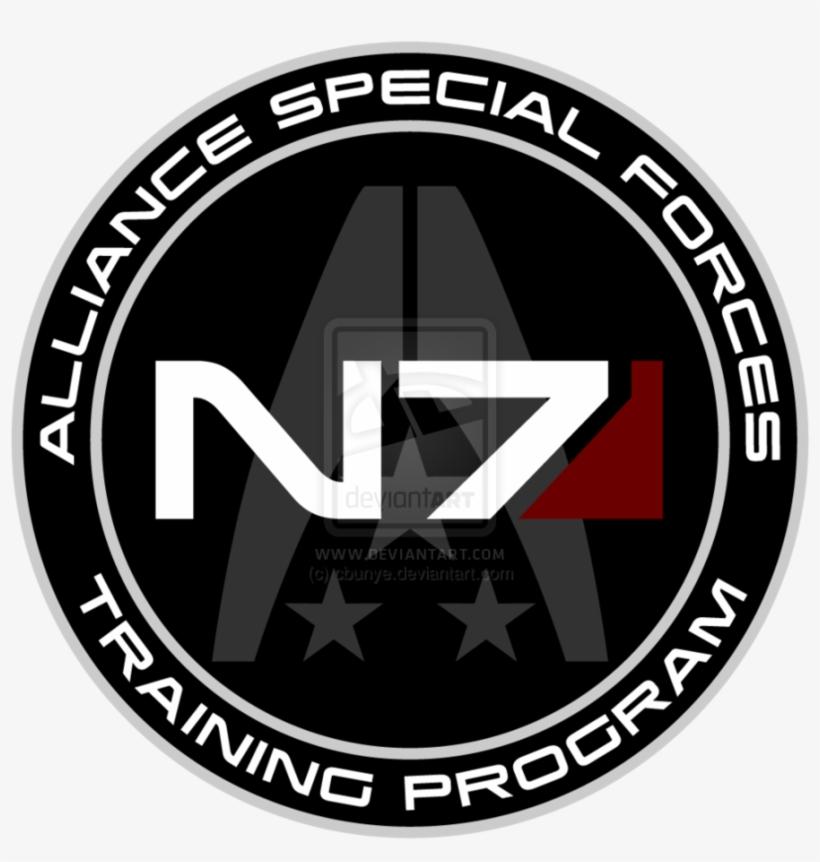 Mass Effect N7 Training Program Custom Logo By ~cbunye - N7