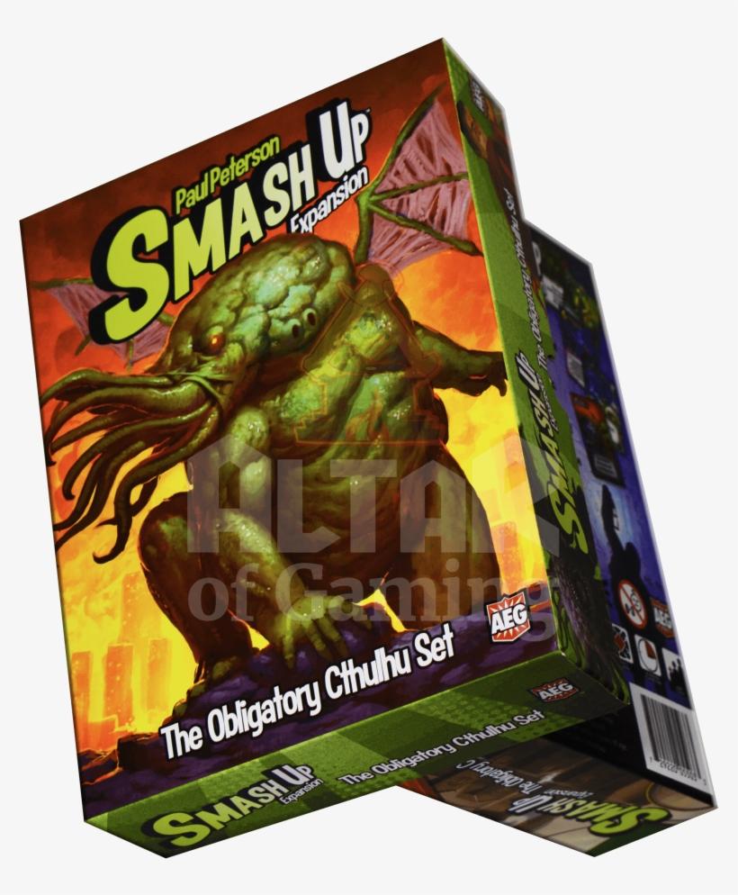 Aeg Smash Up - The Obligatory Cthulhu Set - Board Game, transparent png #1496197