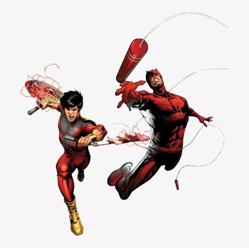 Daredevil & Shang Chi - Daredevil Marvel, transparent png #1496718