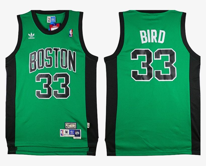 8efc3992cfe Boston Celtics Jersey - Boston Celtics Jersey - Larry Bird Green With Black