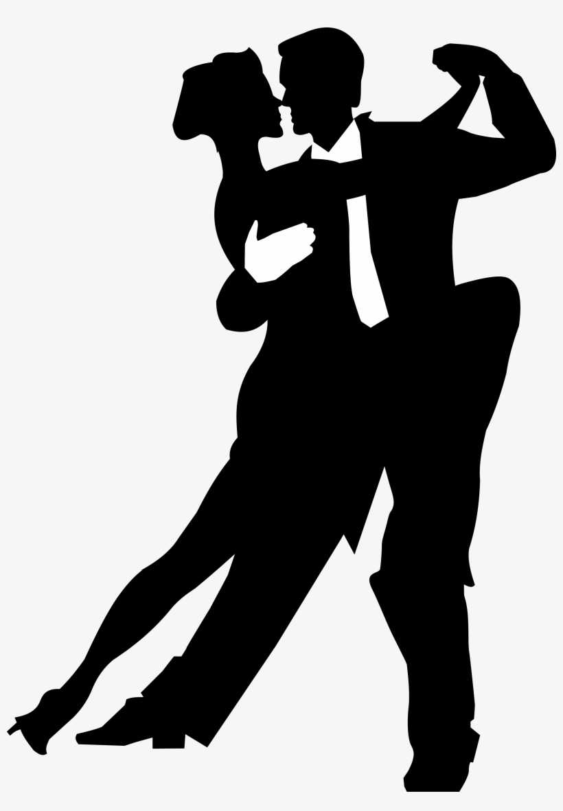 Salsa Dance Silhouette Png Image Ballroom Dancing Vector Free Transparent Png Download Pngkey
