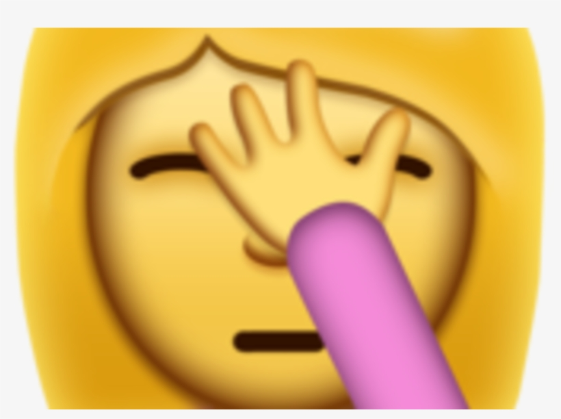 Iphone Facepalm Emoji Arrives Just In Time For U - Smiley