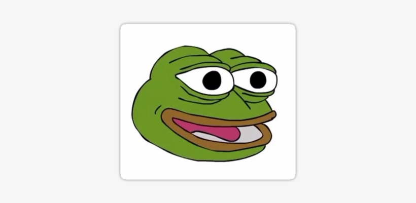The Face Of Pepe The Frog - Tip Hat Gif Meme, transparent png #1498560