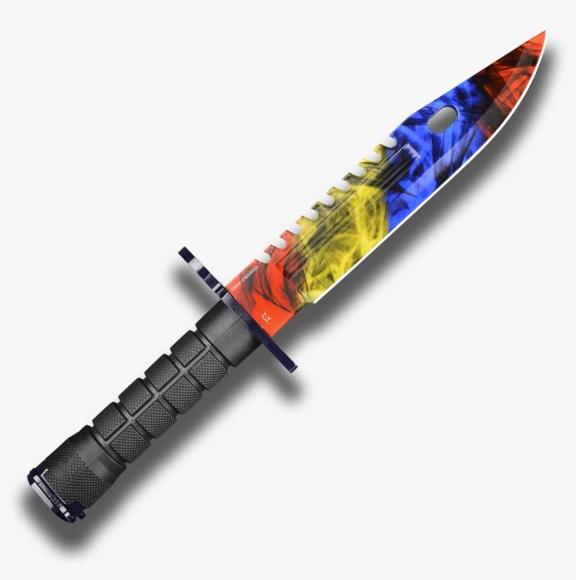 Fadecase M9 Bayonet Knife Marble Fade Fadecase Skins M9