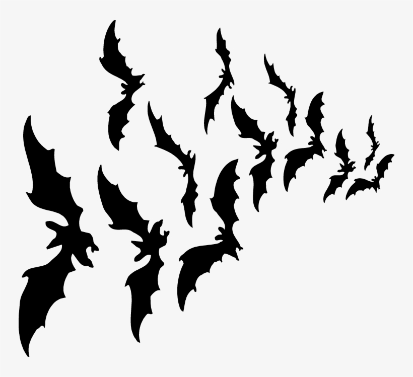 Halloween Bat Png Hd - Halloween Bats Png, transparent png #150133