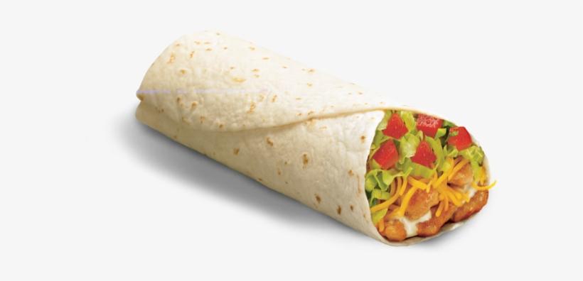 File - Burrito - Del Taco Spicy Chicken Burrito, transparent png #150274