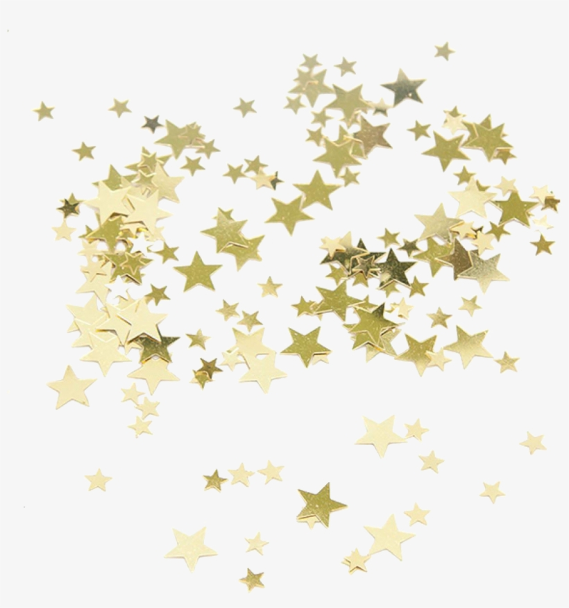 Gold Clip Art Transprent Png Free - Gold Star Confetti Png, transparent png #150537