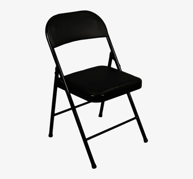 Folding Chair Png - Cosco Black Folding Chairs, transparent png #150620