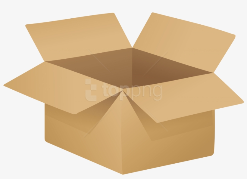 Open Cardboard Box Png Clip Art - Young Living Monthly Wellness Box, transparent png #150860