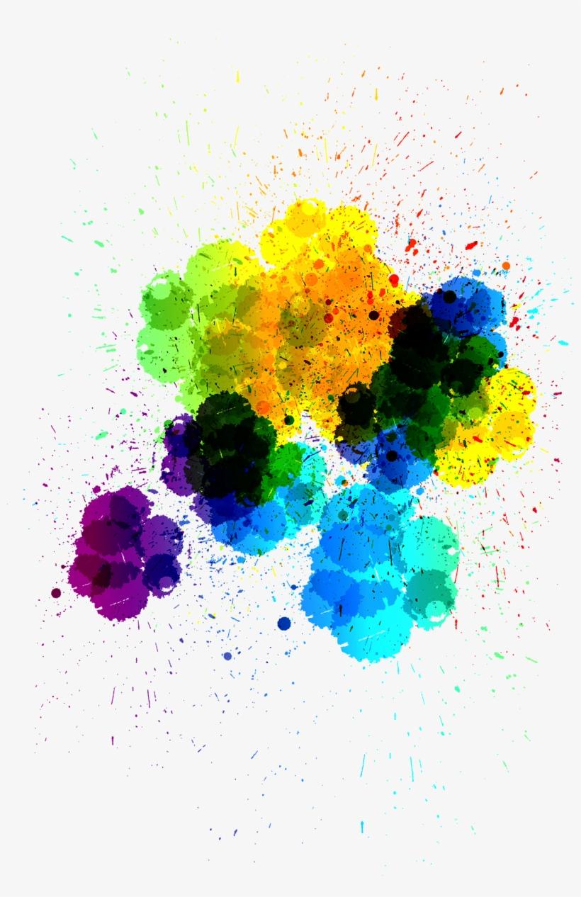 Splash Paint Png - Splash Ink Png, transparent png #150929