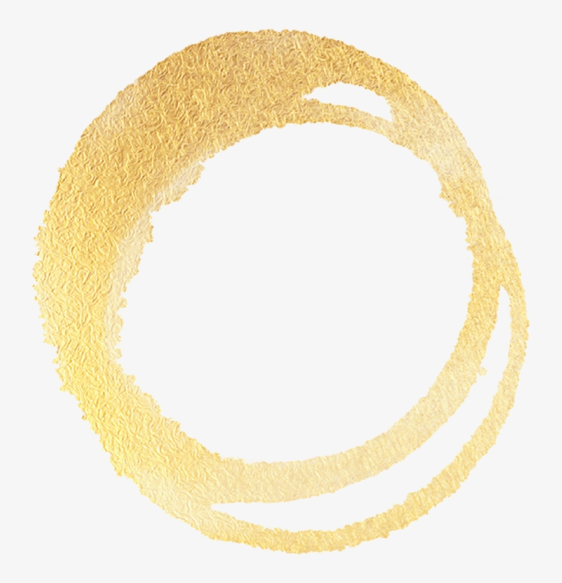 Gold Circle Png Transparent - Gold Logo Circle Png, transparent png #151074