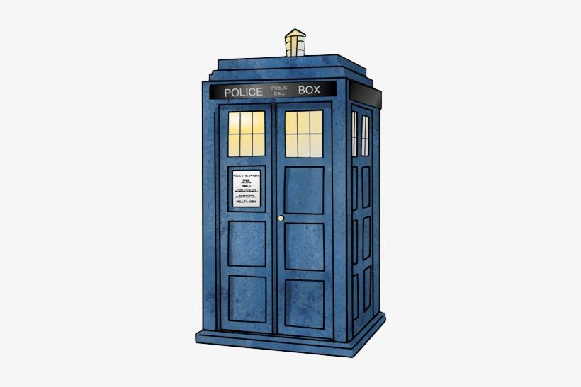 Doctor Who Tardis Drawing, transparent png #151704