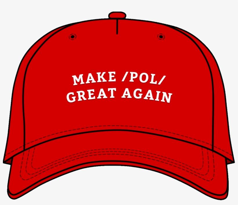 Blank Make America Great Again Hat, transparent png #152242