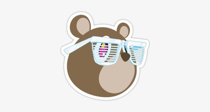 Kanye West Bear Png - Kanye West Stronger Remixes, transparent png #152312