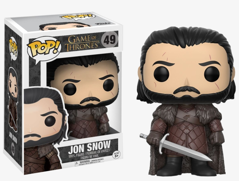 Game Of Thrones - Funko Pop Jon Snow 49, transparent png #152332