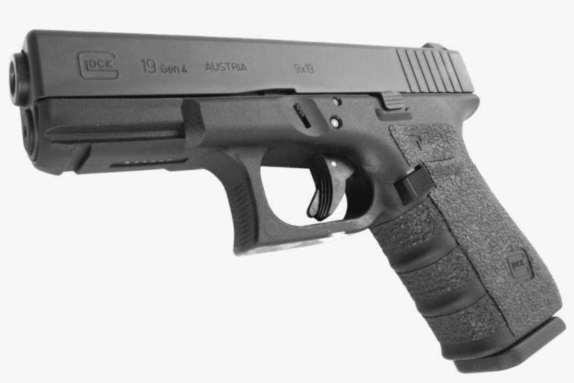 Glock 19 Png Vector Download - Talon Rubber Grips For Glock Gen4 23, transparent png #152939