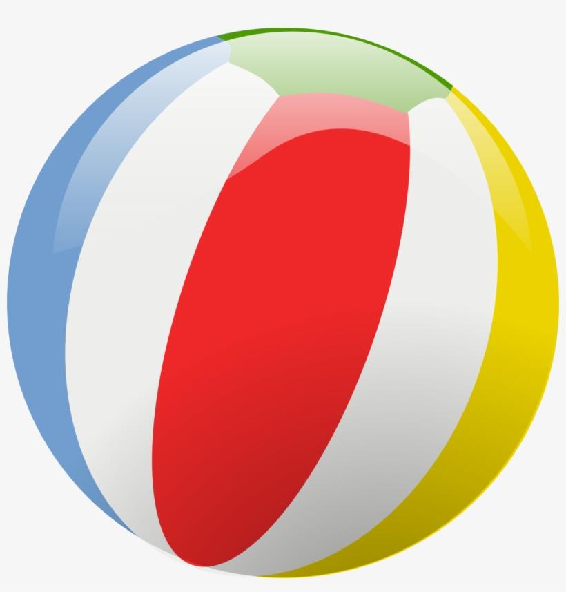 Beach Ball - Beach Ball Clipart Transparent, transparent png #153180