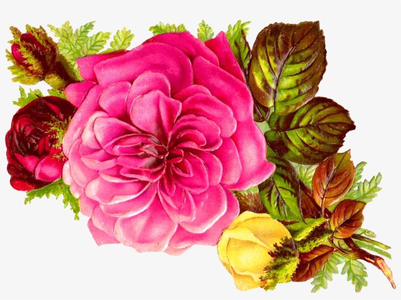 Habrumalas Pink Flower Bouquet Clip Art Images Clipartandscrap - Pink Flower Bouquet Clip Art, transparent png #153204
