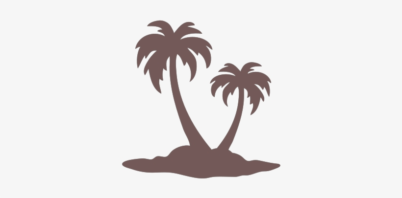 Picture Palm Tree - Palm Tree Silhouette, transparent png #153480