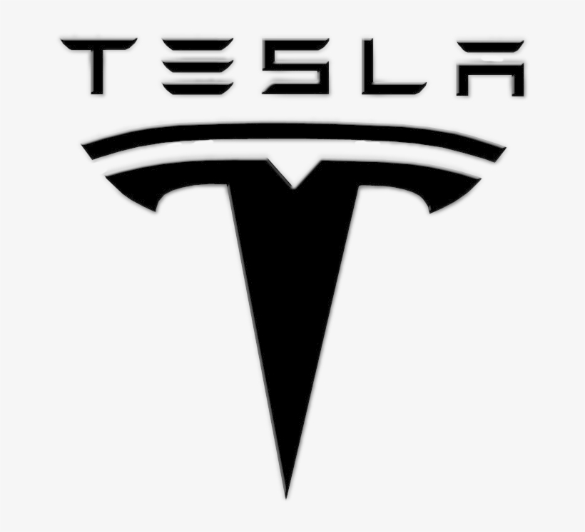 Tesla Logo Png - Tesla Logo Black And White, transparent png #153549