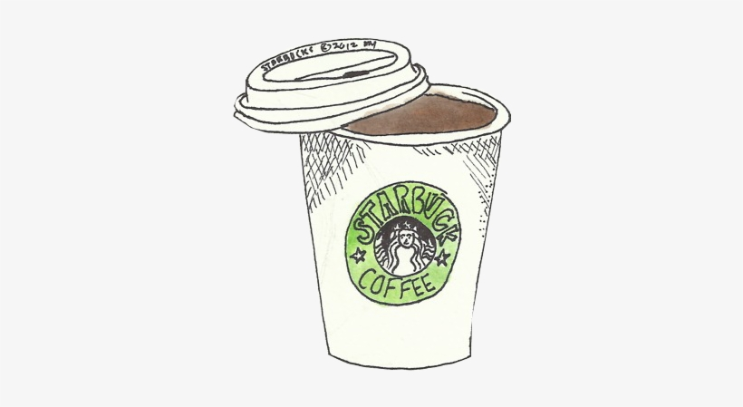 Png Black And White Stock Imgs For Starbucks Drink - Starbucks Pun, transparent png #153682