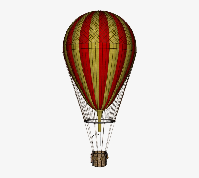 Hot Air Balloon Png By Mysticmorning On Deviantart - Hot Air Balloon Vintage Png, transparent png #154068