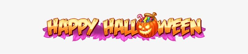 Game Logo Happy Halloween - Happy Halloween Banner Png, transparent png #154402
