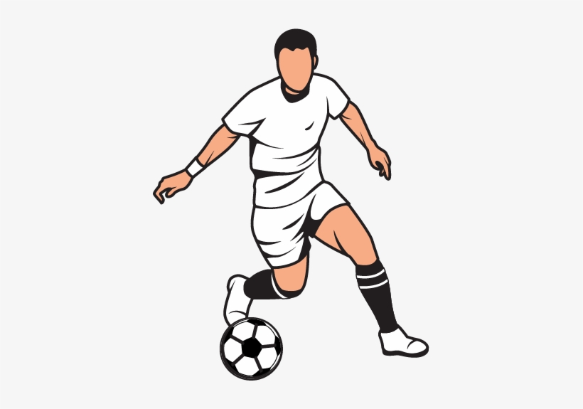 Graphic Download Clipart Football Player - Football Player