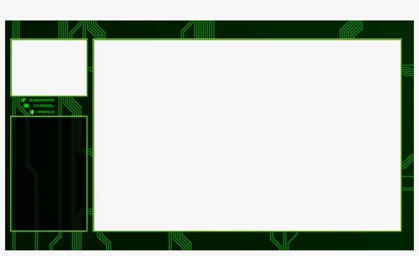 Twitch Overlay Circuits - Twitch 16 10 Overlay, transparent png #154734