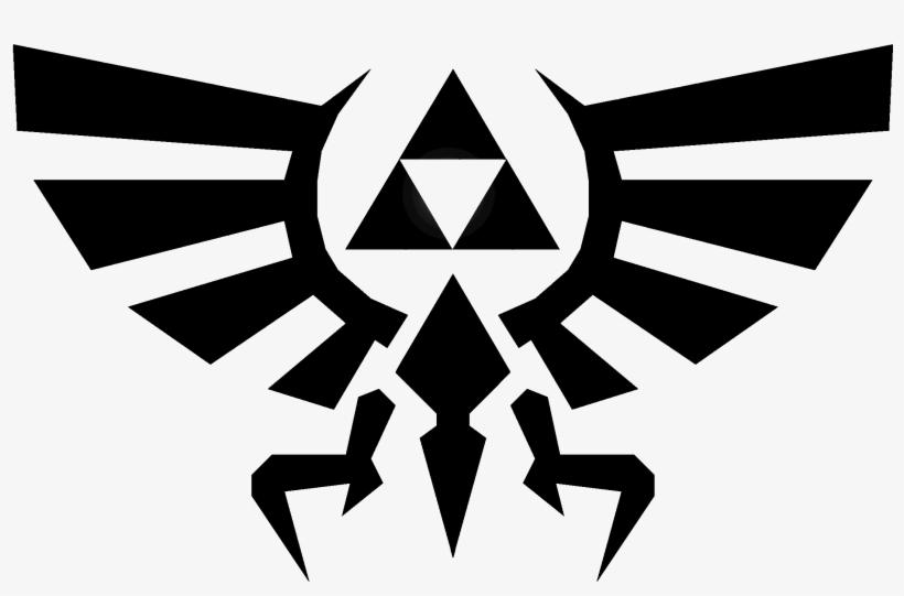 The Eagle And Trifoce Symbol From The Legend Of Zelda - Legend Of Zelda Eagle, transparent png #155388