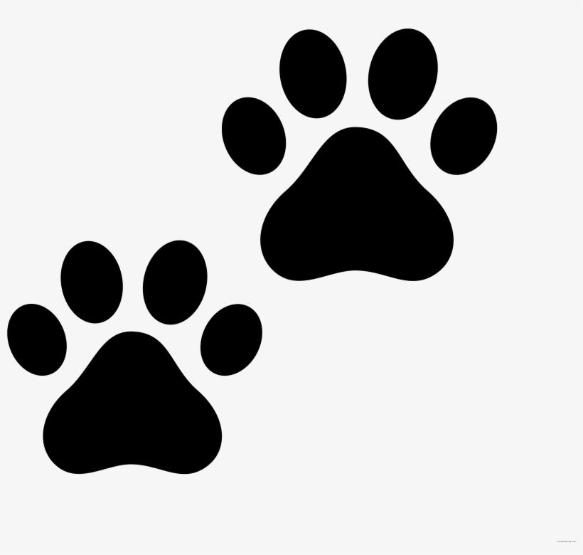 Banner Library Download Cat Clip Art Transprent Png - Paw Print Cat, transparent png #155650